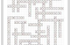 8Th Grade Math Vocabulary Crossword   Puzzles   Math Vocabulary, 8Th   Math Vocabulary Crossword Puzzles Printable