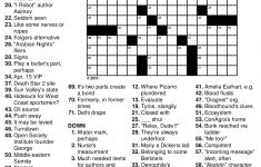 9 Best Photos Of Nfl Crossword Puzzle Printable   Nfl Printable   Nfl Football Crossword Puzzles Printable