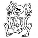 9 Printable Skeleton Crafts   Printable Pages   Halloween Skeletons   Printable Skeleton Puzzle