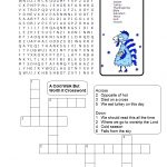 A Cold Walk But Worth It Sunday School Lesson-Turkey Thanksgiving – Christian Thanksgiving Crossword Puzzles Printable