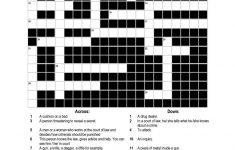 A Crossword Puzzle On Crime Worksheet   Free Esl Printable   Printable Intermediate Crossword Puzzles