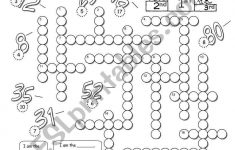 A Crossword To Revise Ordinal Numbers. Answer Key Included   Printable Gujarati Crossword Puzzles