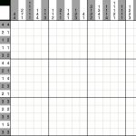 A Fun Picross Puzzle You Can Play With Pen And Paper Or With An Ipad   Printable Hanjie Puzzles Free