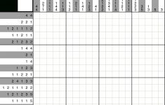 A Fun Picross Puzzle You Can Play With Pen And Paper Or With An Ipad   Printable Hidato Puzzles