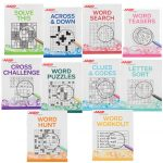 Aarp Large Print Puzzle Books, Set Of 10   Aarp Puzzle   Miles Kimball   Printable Puzzle Books