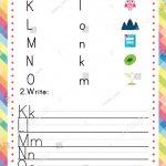 Abc Worksheet Kids English Activity Printable Stock Vector (Royalty   Printable Dropdown Puzzles