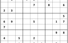 About 'free Printable Sudoku'|Printable Sudoku ~ Tory Kost's Blog   Printable Sudoku Puzzles 9X9