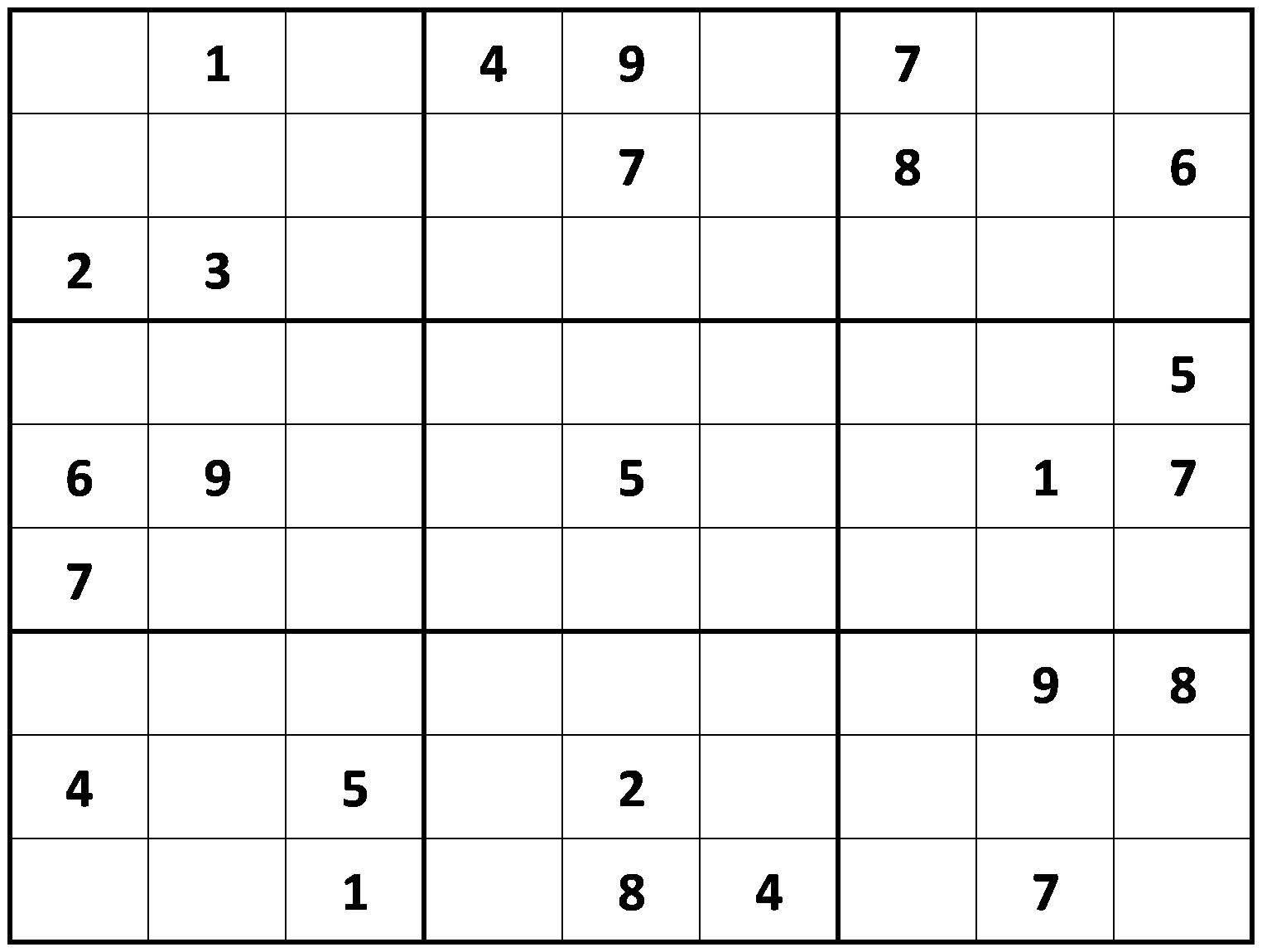 About 'free Printable Sudoku'|Printable Sudoku ~ Tory Kost's Blog - Printable Sudoku Puzzles 9X9