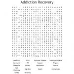 Addiction Recovery Word Search   Wordmint   Printable Recovery Puzzles