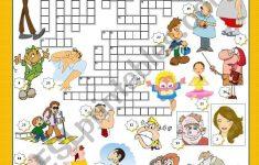 Adjectives   Crossword   Esl Worksheetmariaolimpia   Adjectives Crossword Puzzle Printable