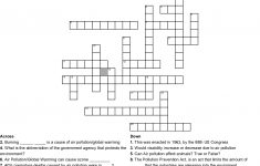 Air Pollution/global Warming Crossword Puzzle Crossword   Wordmint   Global Warming Crossword Puzzle Printable