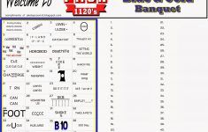 Akela's Council Cub Scout Leader Training: Blue And Gold Banquet   Printable Rebus Puzzle