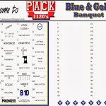 Akela's Council Cub Scout Leader Training: Blue & Gold Banquet   Printable Wordles Puzzles