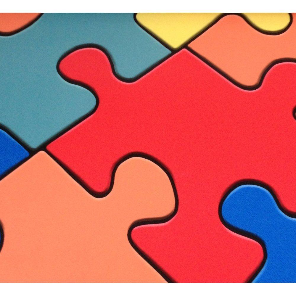Allfloors Changing Roomz Puzzle 155232050 Mulit Puzzle Effect Sheet - Puzzle Print Vinyl