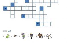 Alphabet Crossword Puzzle Worksheet   Free Esl Printable Worksheets   Printable Puzzle Alphabet