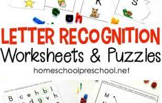Alphabet Printables For Your Homeschool Preschool   Printable Letter Puzzle