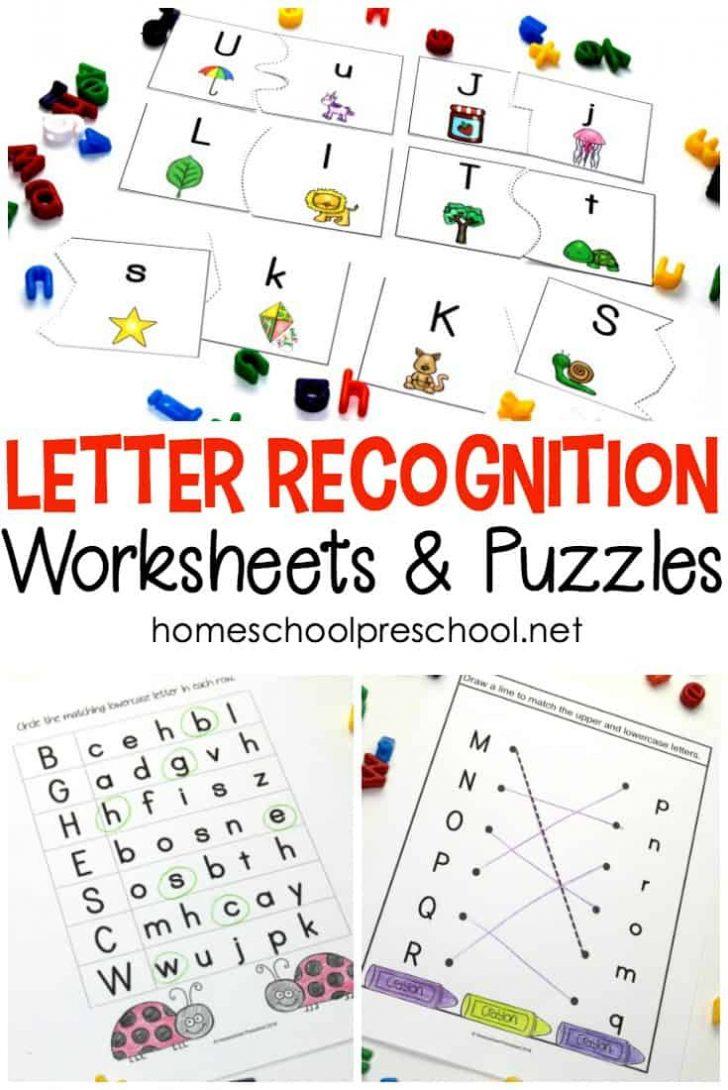 Printable Letter Puzzle