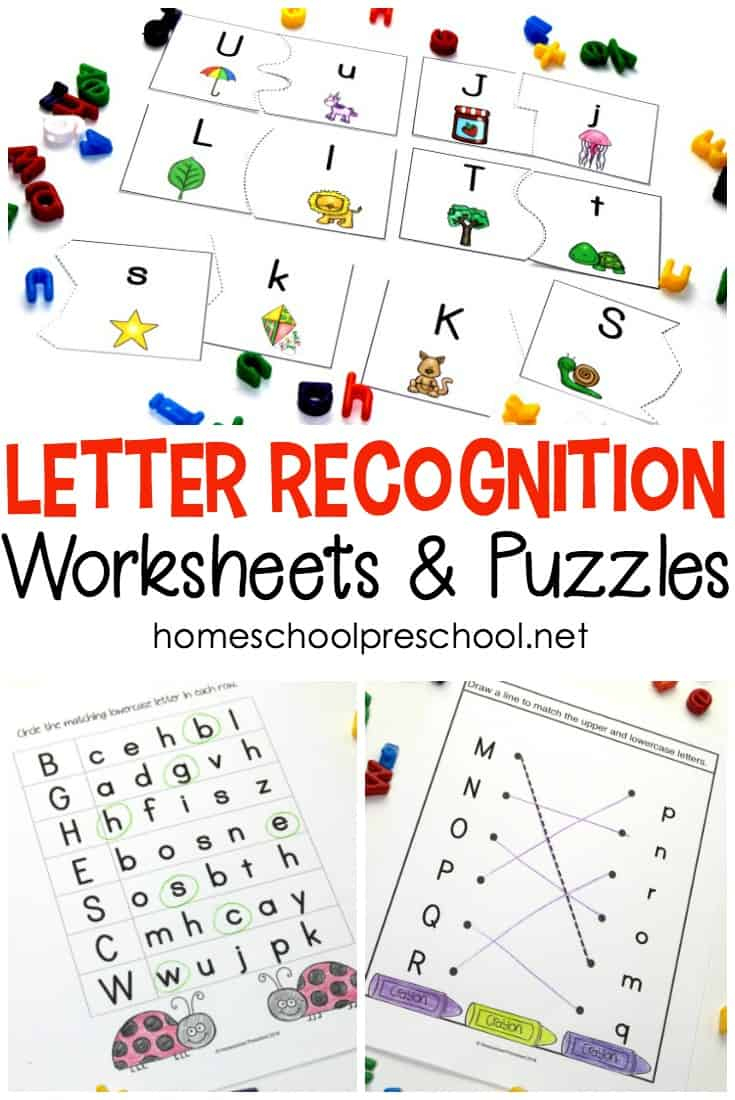 Alphabet Printables For Your Homeschool Preschool - Printable Letter Puzzle