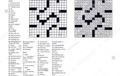 Americanstyle Crossword Puzzle 15 X 15 Stock Vector (Royalty Free   15 X 15 Printable Crosswords