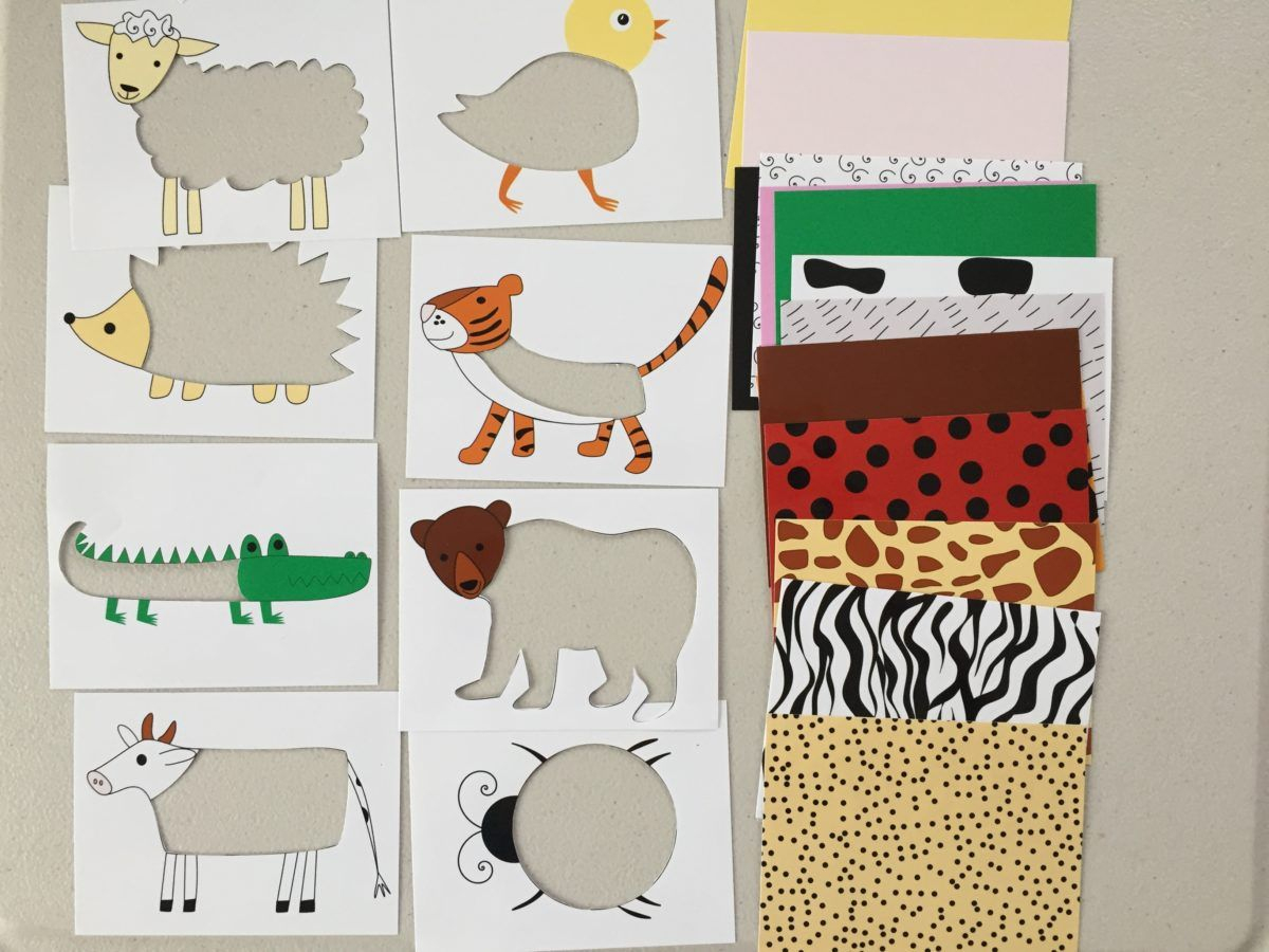 Animal Skin Puzzle For Toddlers And Kids, Printable, Diy Puzzle For - Printable Animal Puzzles