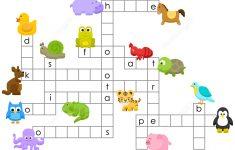 Animals Crossword Puzzle | Free Printable Puzzle Games   Printable Crossword Puzzle Animals