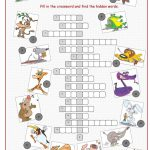 Animals Crossword Puzzle Worksheet   Free Esl Printable Worksheets   Printable Crossword Animal