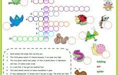 Animals In The Garden Crossword Worksheet   Free Esl Printable   Printable Garden Crosswords