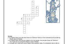Arctic Tribes Of North America Crossword Puzzle | Woo! Jr. Kids   Native American Crossword Puzzle Printable