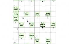 Arrow Word Puzzle | Free Printable Puzzle Games   Printable Arrow Crossword Puzzles For Free