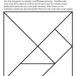 Art Element: Shape | Math | Elements Of Art, Tanagram Printables   Printable Tangram Puzzles For Kindergarten