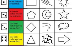 Art Therapy Roll A Feelings Game With Free Art Therapy Game Board   Printable Mind Puzzle Games