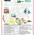Australia   Crossword   2 Worksheet   Free Esl Printable Worksheets   Printable Crossword Australia
