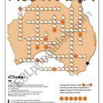 Australia Crossword Puzzle   Esl Worksheetblunderbuster   Printable Crossword Puzzles Australia