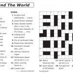 Australian Crossword Puzzles To Print Large Print Crosswords 2   Printable Crossword Australia