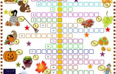Autumn : Crossword Puzzle With Key Worksheet   Free Esl Printable   Fall Crossword Puzzle Printable