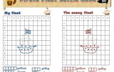 Battleship Printable Game   The Pirate Version!   ***tips & Tricks   Printable Battleship Puzzles