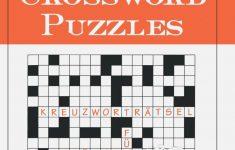 Best 28 Canny German Crossword | Thehydra   Printable German Crosswords