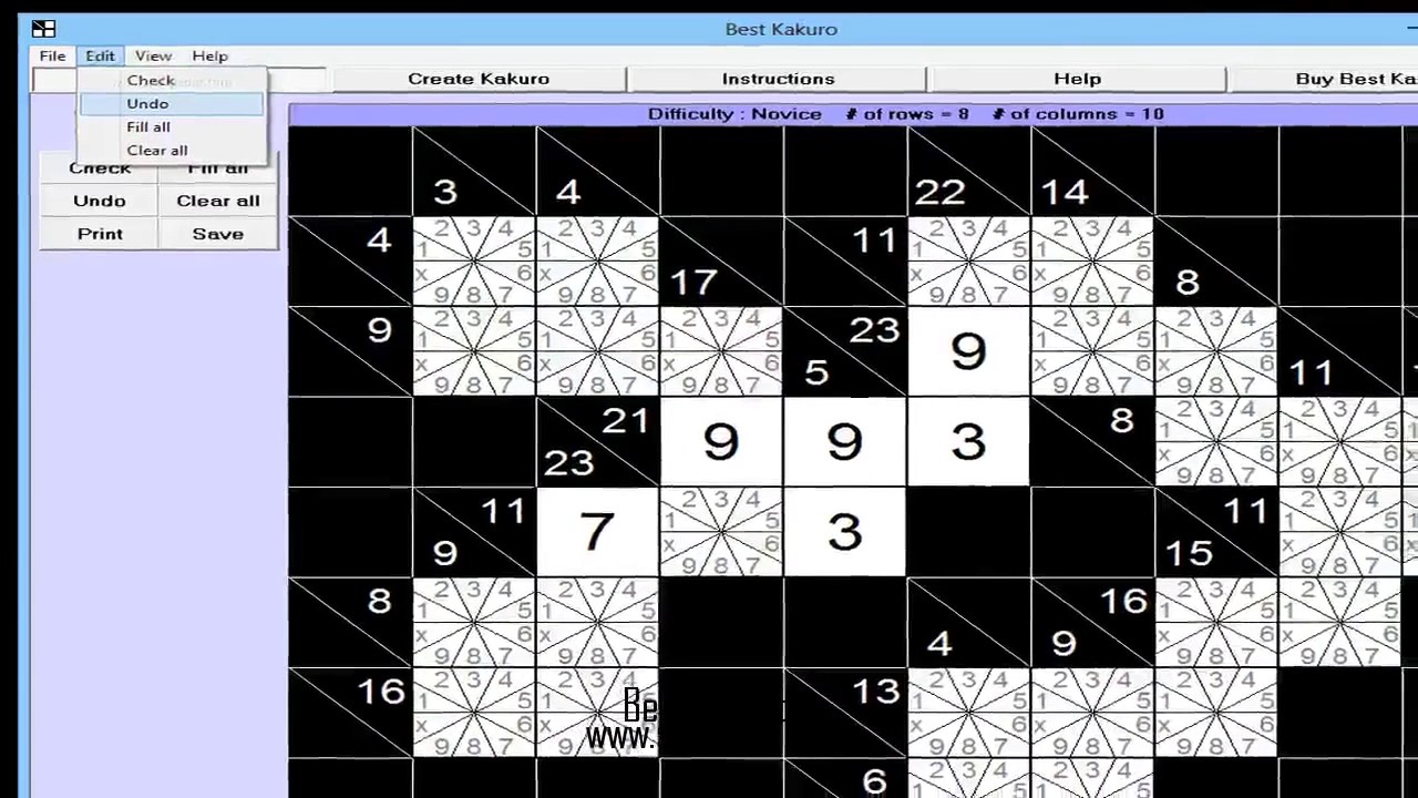 Best Kakuro For Windows - Youtube - Printable Kakuro Puzzles Hard