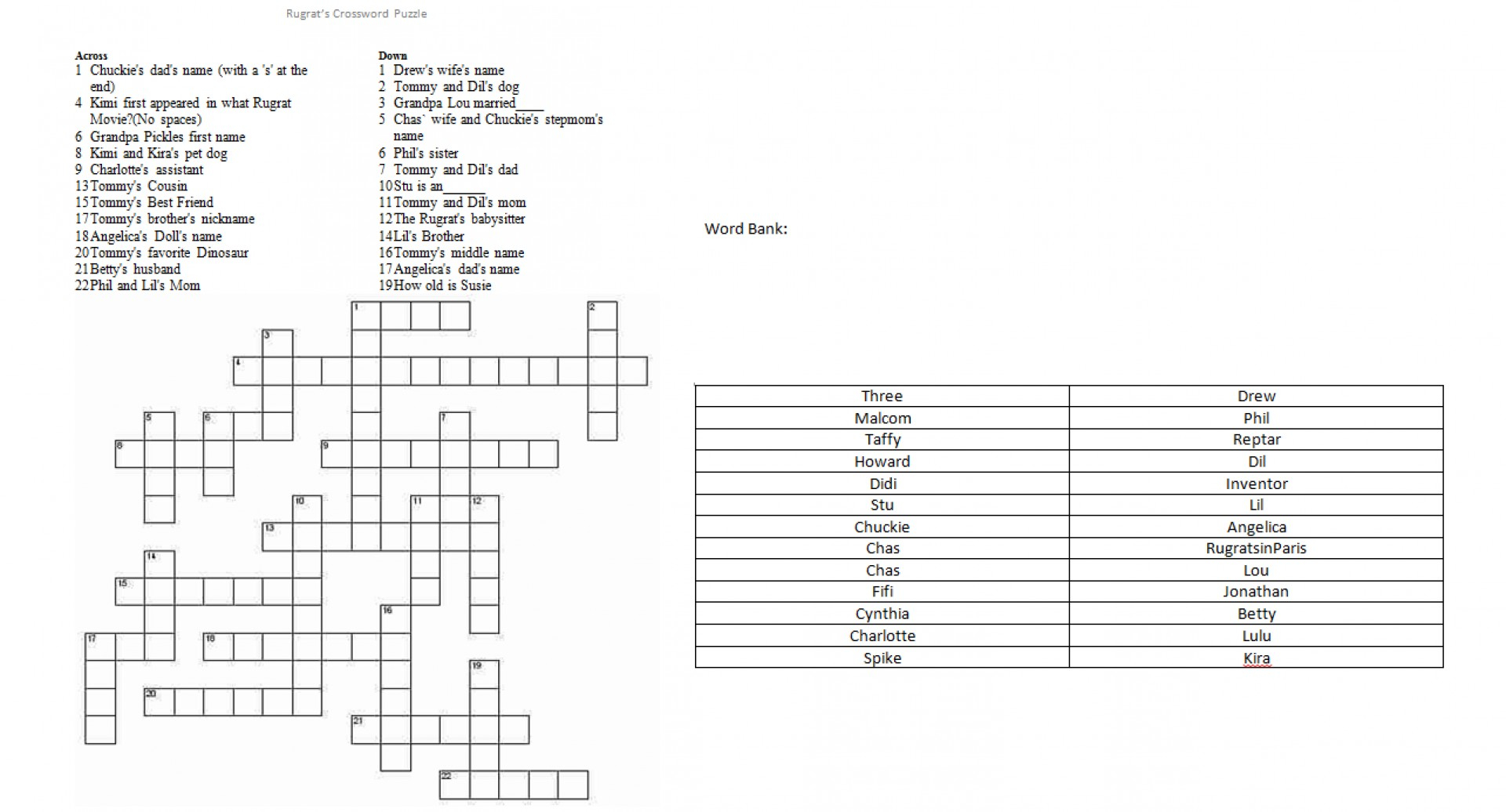 Bicwp1 Crossword Puzzle Inventor ~ Themarketonholly With Crossword - Printable Dinosaur Crossword Puzzles