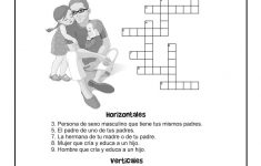 Bilingual / Esl Worksheets: English And Spanish Crossword Puzzles   Crossword Puzzle Printable In Spanish
