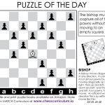Bishop Chess Puzzle. More Puzzles On The Blog And Our Fb Page   Printable Chess Puzzles