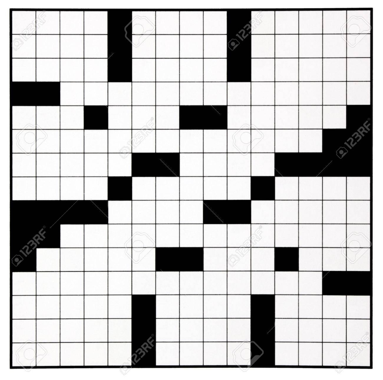 Blank Crossword Puzzle Grid - Karis.sticken.co - Blank Crossword Puzzle Grids Printable