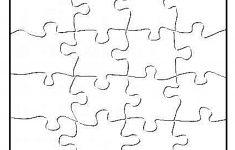 Blank Jigsaw Puzzle Pieces Template | Templates | Puzzle Piece   Printable Diy Puzzle