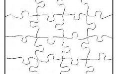 Blank Jigsaw Puzzle Pieces Template | Templates | Puzzle Piece   Printable Puzzles Template