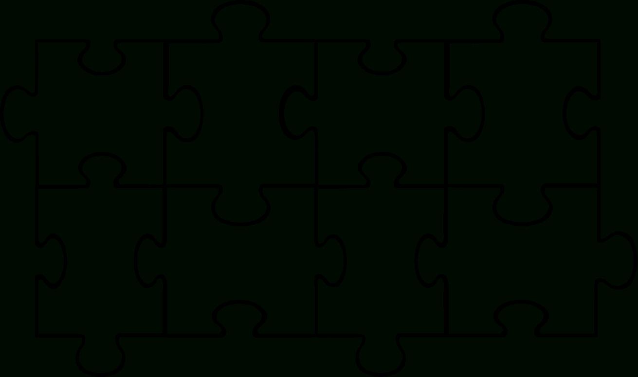 Blank Puzzle Piece Clipart Kid 4 - Clipartbarn - 4 Piece Printable Puzzle