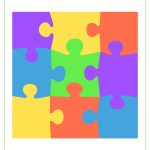 Blank Puzzle Piece Template   Free Single Puzzle Piece Images   Pdf   Printable 9 Piece Puzzle