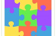 Blank Puzzle Piece Template   Free Single Puzzle Piece Images | Pdf   Printable Colored Puzzle Pieces