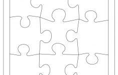 Blank Puzzle Piece Template   Free Single Puzzle Piece Images | Pdf   Printable Puzzles Pdf