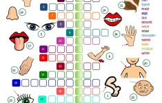 Body Parts   Crossword Worksheet   Free Esl Printable Worksheets   Printable Crossword Puzzles For Esl Learners