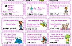Brain Teasers, Riddles & Puzzles Card Game (Set 1) Worksheet   Free   Printable Puzzle Brain Teasers